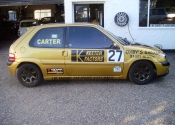 Saxo Vtr pictured outside our workshop