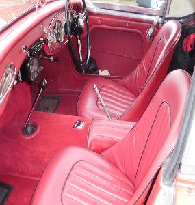 Healey interior good